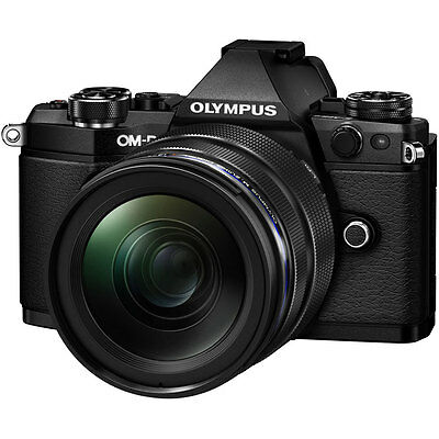 Open Box Olympus OM-D E-M5 Mark II Camera with 12-40mm PRO Lens - Black