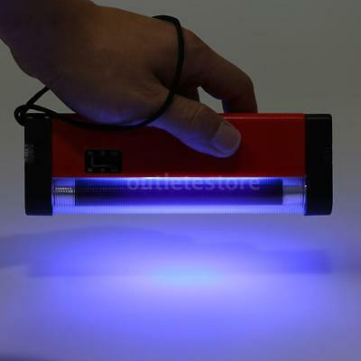 Handheld UV Light Torch Lamp Money Bill Cash Currency Fake Tester Tool New L9Z7