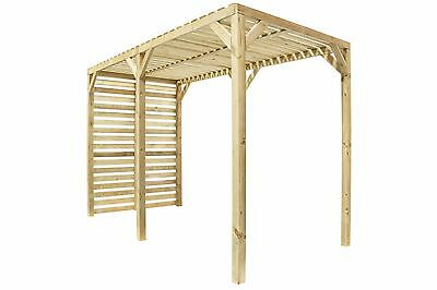 Wooden Urban Pergola By Grange Fencing - Reduced, Old Stock