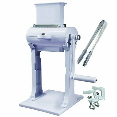 Weston Manual Meat Cuber Tenderizer Dual Support