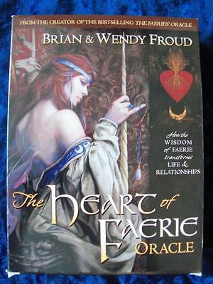 THE HEART OF THE FAERIE ORACLE. Fairy Fairies. Nature Divination Tarot Pagan NEW