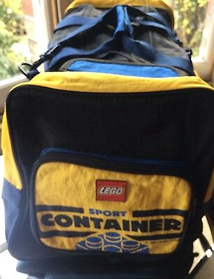 ULTRA RARE LEGO Sport Container System Sports Gym Bag Holdall Of