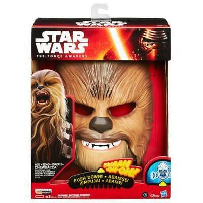 Hasbro Star Wars The Force Awakens Chewbacca Electronic Mask Voice Kids Toy Gift