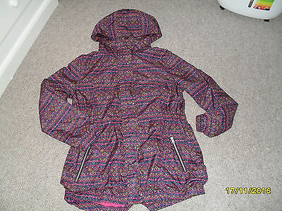 Girls Aztec Colourful Coat/jacket Age 16 New Without Tags.