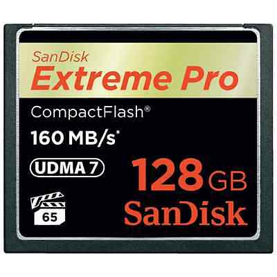 Memoria Sandisk Cf 128Gb Extreme Pro 160Mb/s (Sdcfxps-128G-X46)