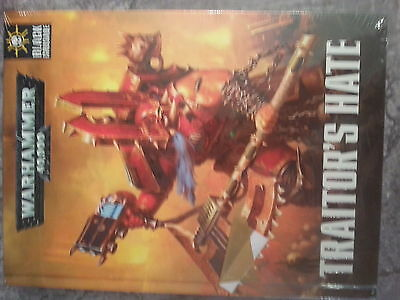 Warhammer 40K Chaos Space Marines Black Crusade Traitor`s Hate - New & Sealed