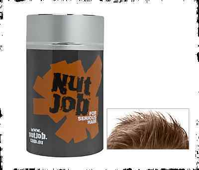 Nut Job Light Brown Hair Thickening Fibres 22g. Buy Two - FREE Shipping
