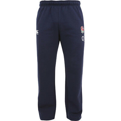 Canterbury Mens England Rose Embroidered Rugby Fleece Pants