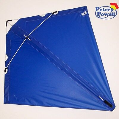 PETER POWELL Dual Line Stunt Kite MKIII BLUE  - Adults Kids Outdoor Sport Toy