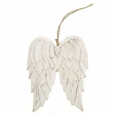 Large Wall Hanging Carved Wooden Angel Wings Home Decor Heaven Sends