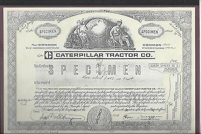Caterpillar Tractor Co......abn Proof