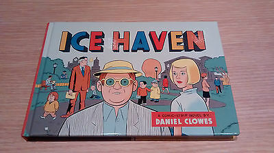 *ice Haven Daniel Clowes Hard Back First Edition 2005 Eightball Mint Condition*