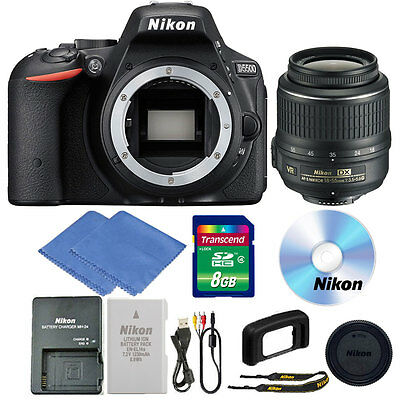 Nikon D5500 24.2 MP CMOS Digital SLR Camera + 18-55mm Lens + Accessories