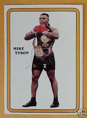 Iron Mike Tyson  Boxing  Promo Card