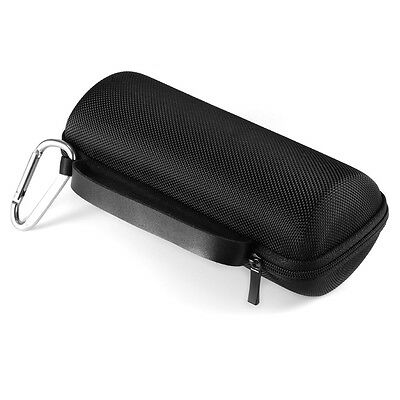 Hard Cover Case Storage Carrying Bag Black for JBL Flip3 Bluetooth Speaker TH576