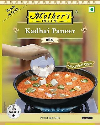 Mother's Recipe Paneer Kadhai - 80gm - Delicacy from Indian cuisine