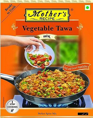 Mother's Recipe VEGETABLE TAWA MIX - 75gm - Delicacy from Indian cuisine