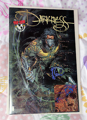 Official Top Cow Fan Club Binder With The Darkness 1 Cyber Force Print etc.
