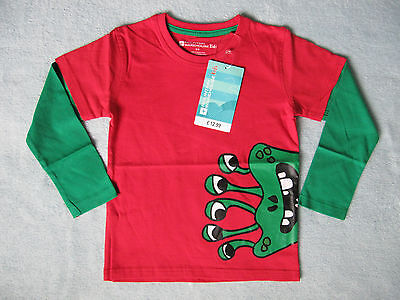 "Mountain Warehouse ""Monster"" Double Sleeve Kids T-Shirt ~ Age 5-6 Years"