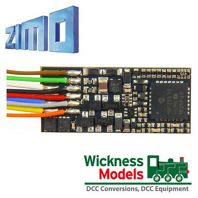 Zimo MX600 Small DCC Decoder Wired for Model Railway Locomotives