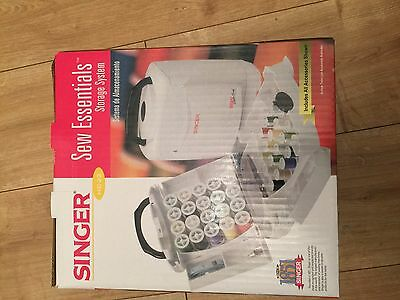 Singer Handy Chest for Sewing White New and unopened
