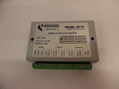 Noland Engineering XP15 NMEA 0183 Expander - TESTED and 100% WORKING