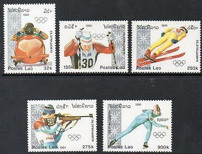 Laos MNH 1991 Winter Olympic Games