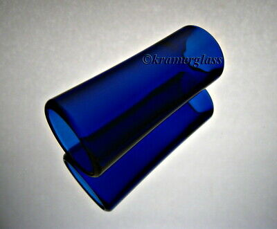 Real BottleNeck Guitar SLide Flare Custom Glass