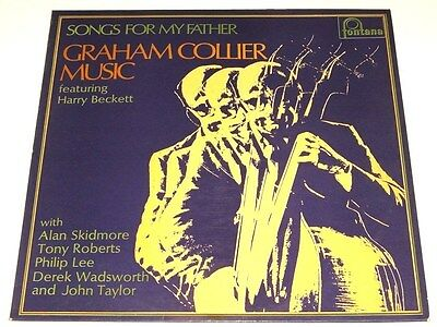 GRAHAM COLLIER MUSIC - songs for my father - UK LP 1970 original