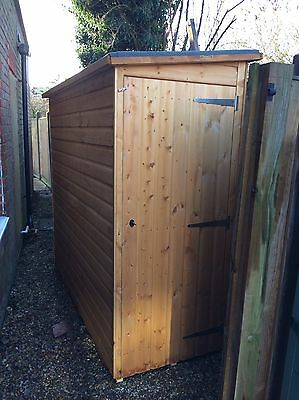 Garden Shed - Pent Roof - Size 7' x 3