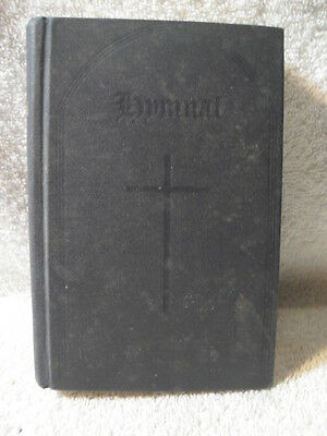 Antique The Hymnal of Protestant Episcopal Church 1940 Vintage Book