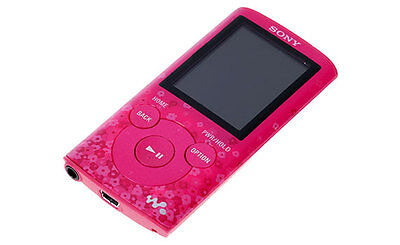 Sony NWZE383P 4GB E Series Digital Media Player (Pink)