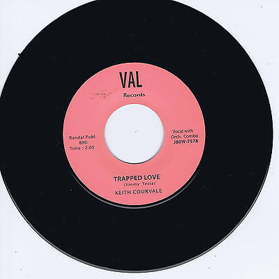Keith Courvale - Trapped Love (Stunning Classic Guitar Rockabilly Bopper) Repro