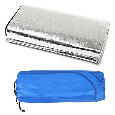 1pc Outdoor Sleeping Mattress Pad Waterproof Aluminum Foil EVA Sport Camping Mat
