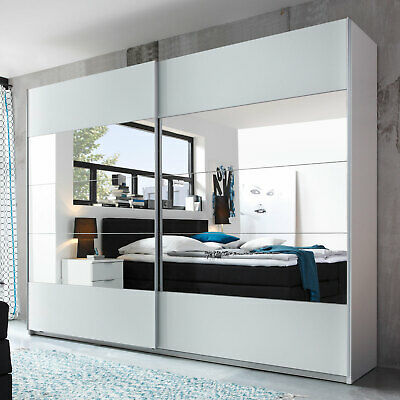 kleiderschrank luca schrank landhaus schlafzimmer pinie wei tr ffel mit spiegel eur 479 00. Black Bedroom Furniture Sets. Home Design Ideas