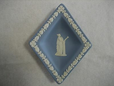 Wedgwood Blue & White Diamond Jasper Ware Dish