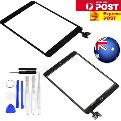 iPad Mini Retina Front Glass Touch Screen IC Chip Connector Home Button Lens AU