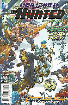 THRESHOLD PRESENTS THE HUNTED: 1-8 (Complete!) DC New 52, Blue Beetle, Larfleeze