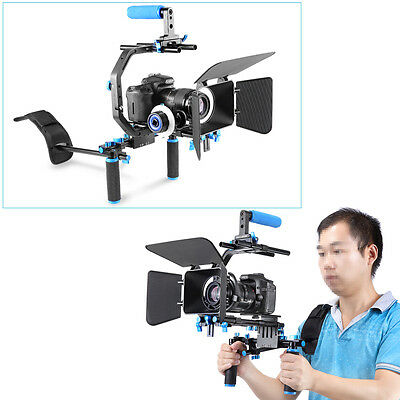 Neewer Pro DSLR Rig Set Movie Kit Film Making System for All DSLR Cameras