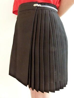"GYMPHLEX Girls/Ladies BLACK Sports Kilt/Skirt W32"" 15+ yrs- NEW!"
