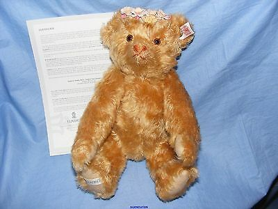 Steiff Lladro Four Seasons Autumn Teddy Bear Limited RARE Brand New EAN 676345
