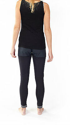 Bowtex Universal Unisex Motorcycle Kevlar Abrasive Base Layers Leggings - Black