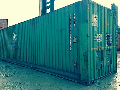 40ft High cube shipping container - LANCS