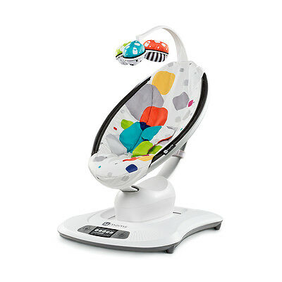 4MOMS Mamaroo - Multicolour Plush Baby Bouncer Rocker