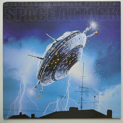 ★★Lp De**various - Braindamage Records Presents: Space Attack★★18001