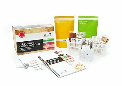 The ULTIMATE Cheese Making Kit makes 40 batches!