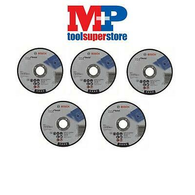 Bosch 2608600394 Metal Straight Cutting Disc 125Mm **pack Of 5**