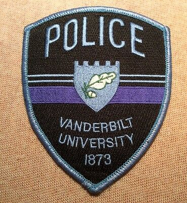 TN Vanderbilt University Tennessee Police Patch