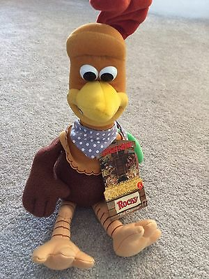 "Chicken Run ""Rocky"" Aka The Charmer - Soft Toy Collectible"