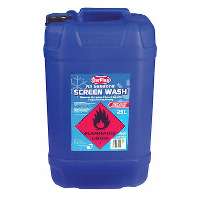Carplan All Seasons Car Windscreen Window Screen Wash Concentrate 25 Litre -